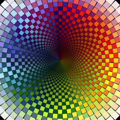Effet de profondeur le royaume des illusions d 39 optique for Effet d optique 3d